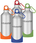 20oz Aluminum Bike Bottles With Plastic Base